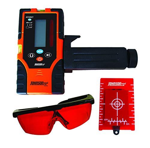 Johnson Level & Tool 40-6720 Red Beam Universal Detector Kit