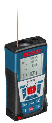 Bosch GLR825 Laser Distance Measurer, 825', Blue (Discontinued by Manufacturer)