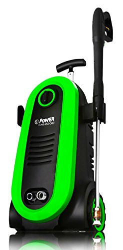 POWER Pressure Washer NXG-2200 PSI 1.76 GPM Electric 14.5Amp BRUSHLESS Induction Technology | The Next Generation of Pressure Washer | 4X More Lifespan | Ultra Low Sound | New Design (Blue)