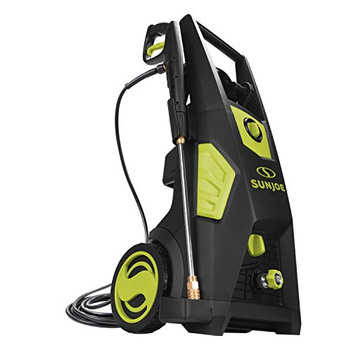 Sun Joe SPX3500 2300 Max Psi 1.48 Gpm Brushless Induction Electric Pressure Washer, w/Brass Hose Connector