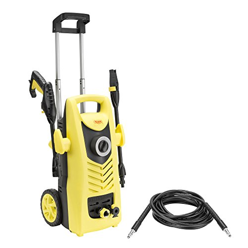 Realm 2000 PSI 1.60 GPM 13 Amp Electric Pressure Washer with Foam Cannon, Adjustable Nozzle,19ft Hose