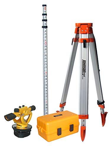 Johnson Level & Tool 40-6912 22X Builders Level Transit System