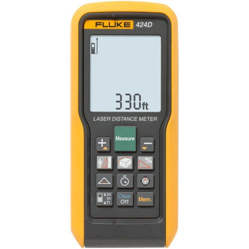 Fluke 424DFactory Reconditioned Laser Distance Meter - 100M/330Ft Max