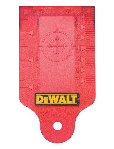 DEWALT Laser Target Card For Rotary Lasers (DW0730)