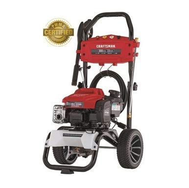 CRAFTSMAN 3000 PSI 2.5-Gallon-GPM Cold Water Gas Pressure Washer with Briggs & Stratton Engine CARB