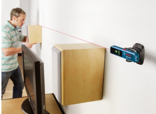 Can the laser level attach to the wall