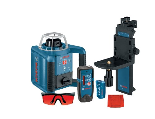 Bosch Self-Leveling Green Rotary Laser with Layout Beam GRL300HVG