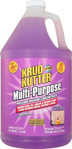 Krud Kutter PWC01 Purple Multi-Purpose Pressure Washer Concentrate with Sweet Odor