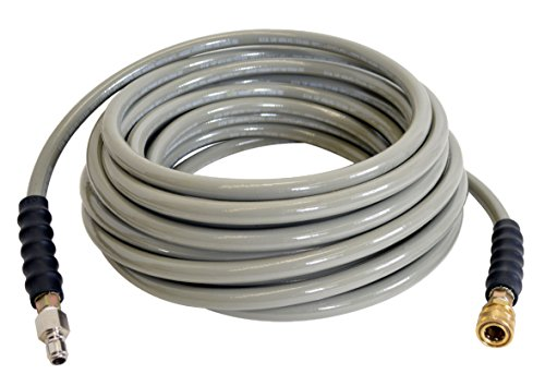 SIMPSON Cleaning Armor 41114 3/8' x 50' 4500 PSI Hot and Cold Water Replacement/ Extension Hose