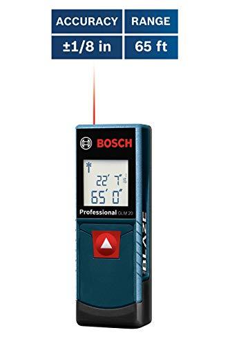 Bosch GLM 20 Compact Blaze 65' Laser Distance Measure