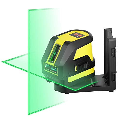 New Firecore F118G Professional Self-Leveling Cross Line Laser, Green