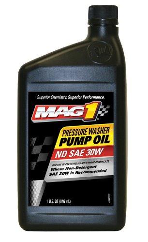 Mag 1 (60694-6PK Pressure Washer Pump Oil - 1 Quart, (Pack of 6)
