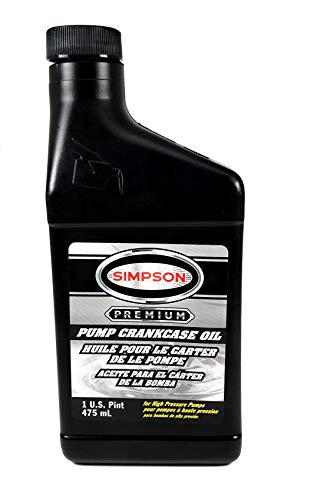 Simpson 7106737 Pressure Washer Pump Oil 1 Pint