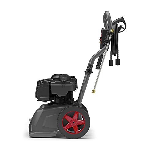 Briggs & Stratton S2800 2800 MAX PSI at 1.8 GPM Gas Pressure Washer with Detergent Injection, 25-Foot High-Pressure Hose, and 4 Quick-Connect Nozzles