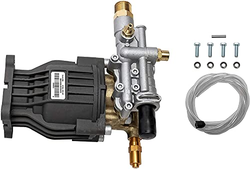 OEM Technologies 90029 Replacement Pressure Washer Pump Kit, 3400 PSI, 2.5 GPM, 3/4' Shaft, Includes Hardware and Siphon Tube, for Residential and Industrial Gas Powered Machines