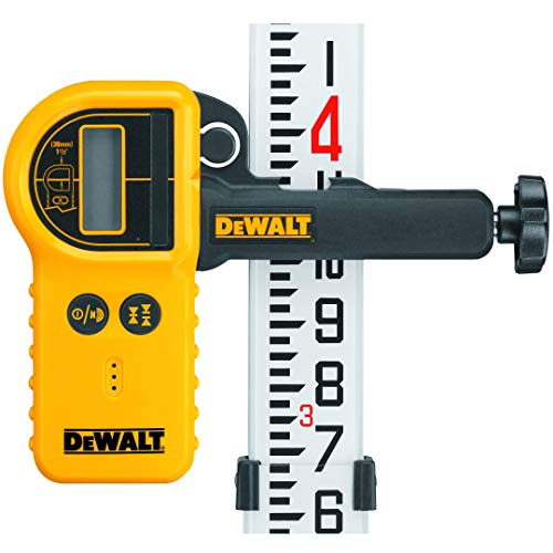 DEWALT Laser Detector For Rotary Lasers and Clamp (DW0772)