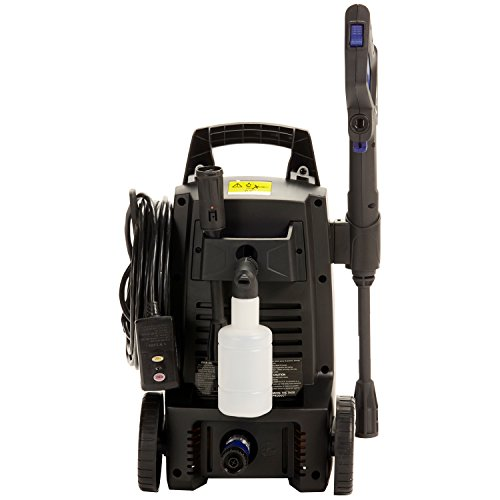 Annovi Reverberi, AR112S AR Blue Clean, 1, 500 psi Electric Pressure Washer, Nozzles, Spray Gun, Wand, Detergent Bottle & Hose