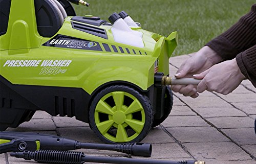Earthwise PW18503 1850 PSI 1.5 GPM Electric Pressure Washer, 1850 PSI, 1.5 GPM, Green