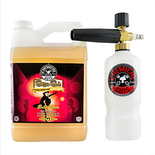 Chemical Guys EQP316 Torq Professional Foam Cannon and Stripper Suds Car Wash Soap (1 Gal), 128 fl. oz.