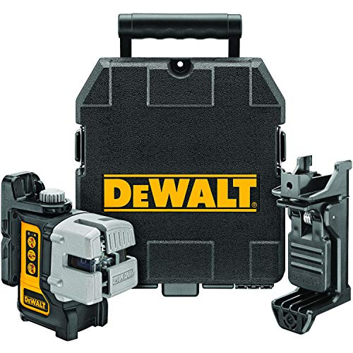 DEWALT Line Laser, Self-Leveling, 3-Beam (DW089K),Black