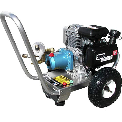 Pressure-Pro PPS3030HCI-UPS Pro Power 3000 PSI 3.0 GPM Cold Water Gas Engine Pressure Washer with GC190 Honda Engine and CAT 4PPX27GSI Pump