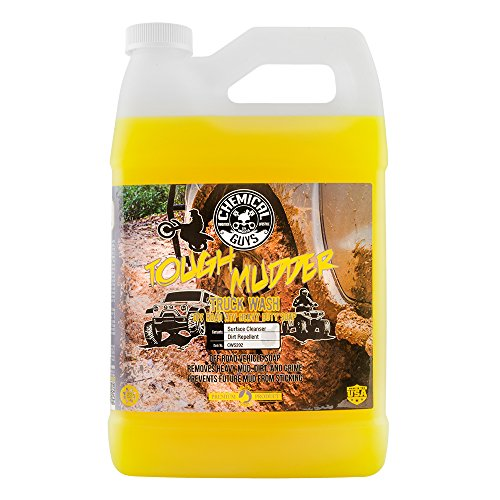 Chemical Guys CWS202 Tough Mudder Truck Wash Off Road and ATV Heavy Duty Soap, 1 Gallon, 128 fl. oz, 1 Pack