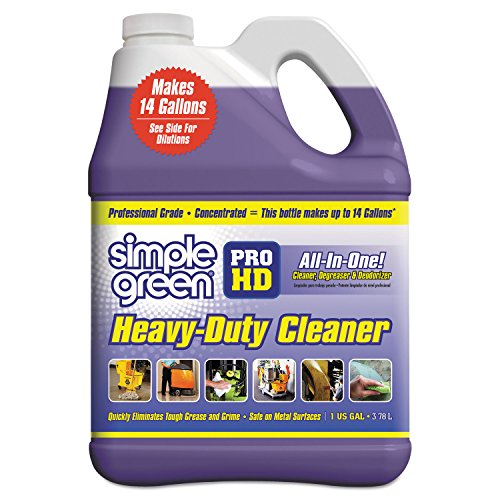 SIMPLE GREEN = SUNSHINE MAKERS Pro Hd Heavy-Duty Cleaner, Unscented, 1 Gal Bottle, 4/Carton, New