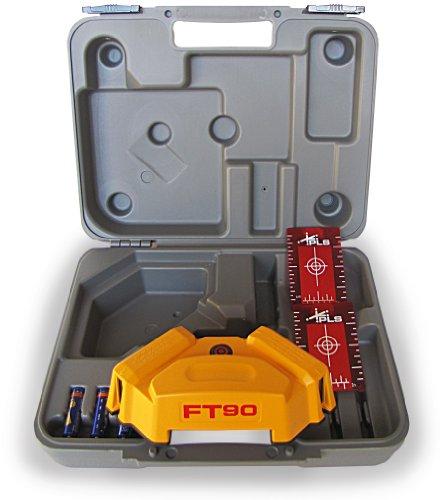 PLS Laser PLS-60567 PLS FT 90 Floor Tile Layout Tool, Yellow