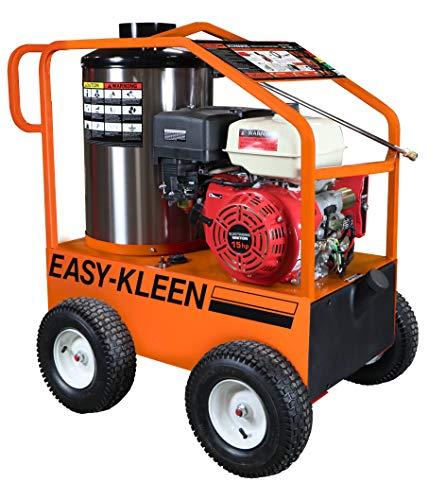 EASY-KLEEN PRESSURE SYSTEMS LTD Commercial 4000 PSI 3.5 GPM Gas Driven Hot Water Pressure Washer Lifan Engine/EK Pump 110/120V Burner