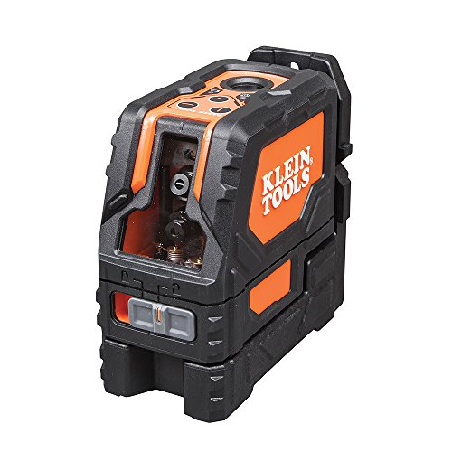 Klein Tools Self-Leveling Cross-Line Laser Level with Plumb Spot