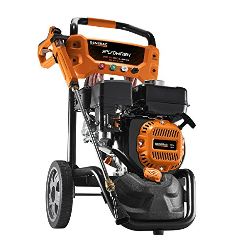 Generac 6882 GPW 2900PSI Power Washer SPEEDW, 2900 PSI