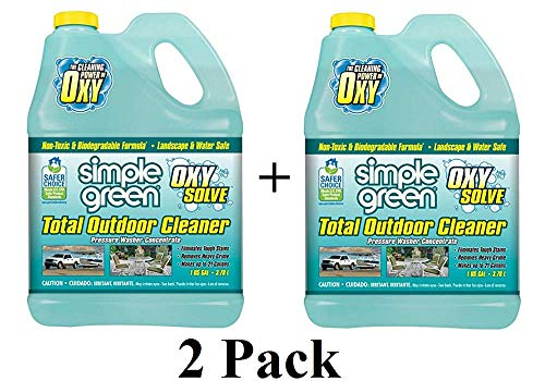 Oxy Solve Total Outdoor Pressure Washer Concentrate 1 Gal.