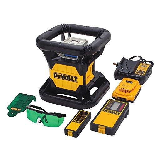 DEWALT 20V MAX Rotary Laser Level, Green (DW079LG)