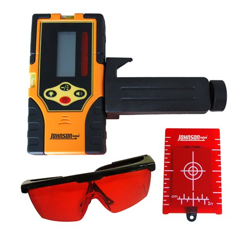 Johnson Level and Tool 40-6720 Red Beam Universal Detector Kit