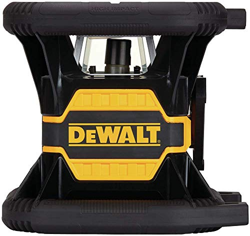 DEWALT 20V Max Rotary Laser Level, Green with Bluetooth (DW080LGS)