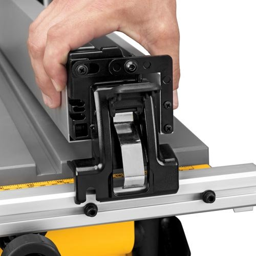 DEWALT 10-Inch Portable Table Saw with Scissor Stand (DWE7490X)