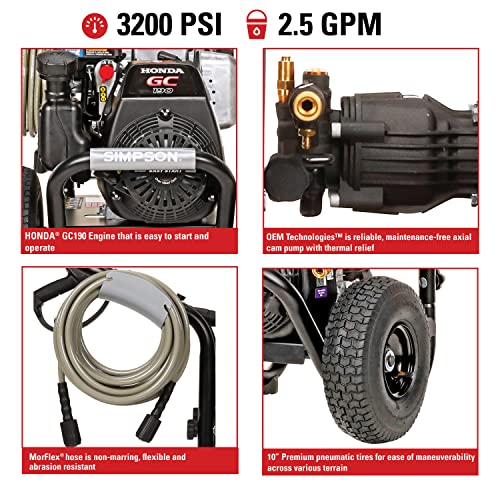 features to look for in a pressure washer for car cleaning