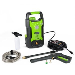GreenWorks 1,500 PSI 1.2 GPM 13AMP Hand Carry Electric Pressure Washer Review