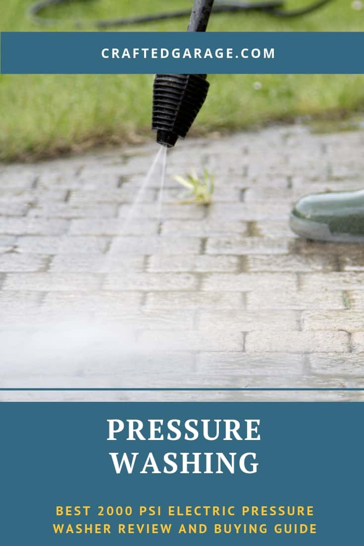 Best 2000 PSI electric pressure washer review and buying guide