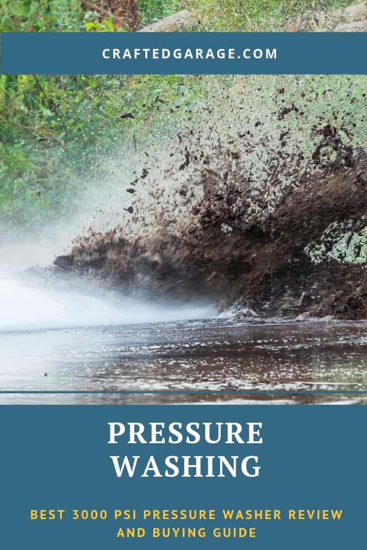 Best 3000 PSI pressure washer review and buying guide