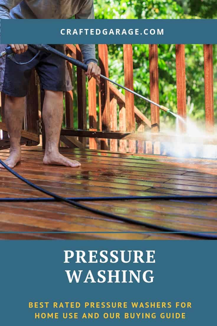 Best rated pressure washers for home use and our buying guide