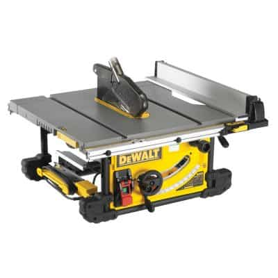 DEWALT DWE7490X 10-Inch Job Site Table Saw with Scissor Stand Review