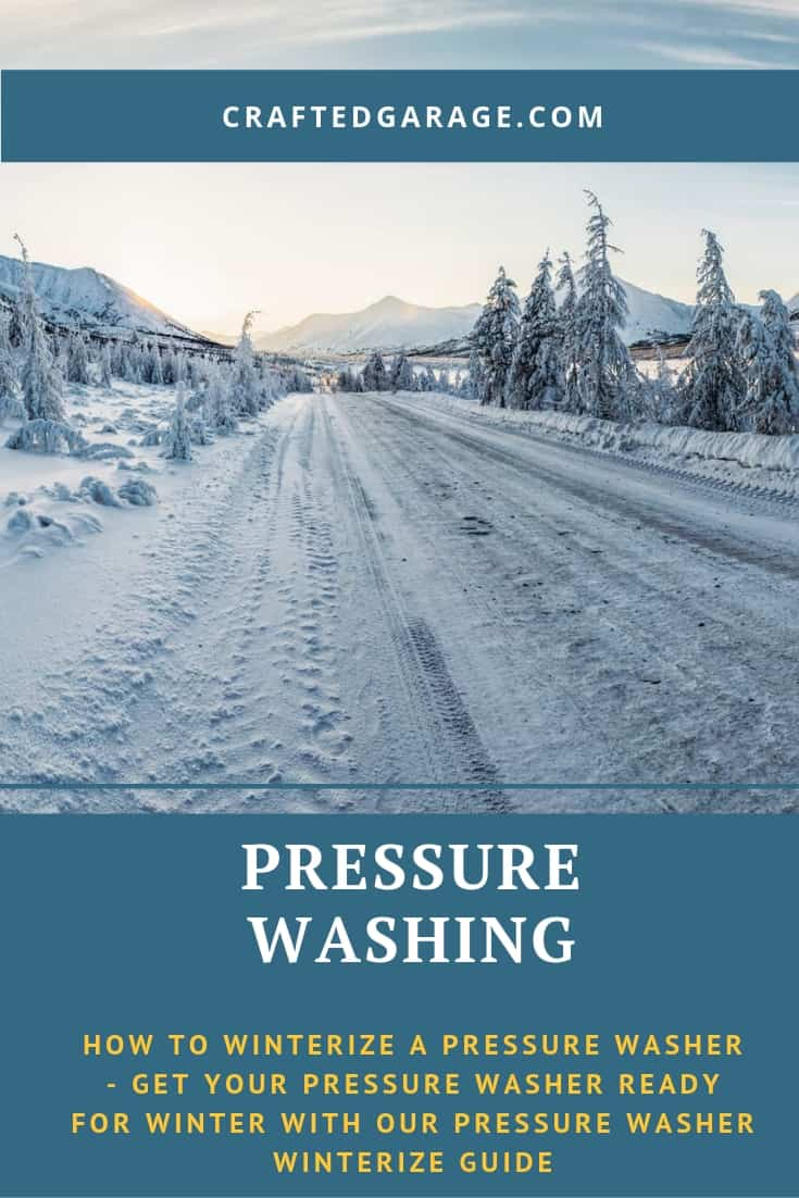 How to Winterize a Pressure Washer – Get your pressure washer ready for winter with our Pressure Washer Winterize guide