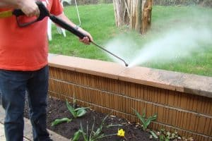 Pressure washer tips - using the right tip for the job