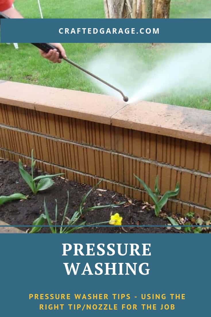 Pressure washer tips – using the right tip/nozzle for the job