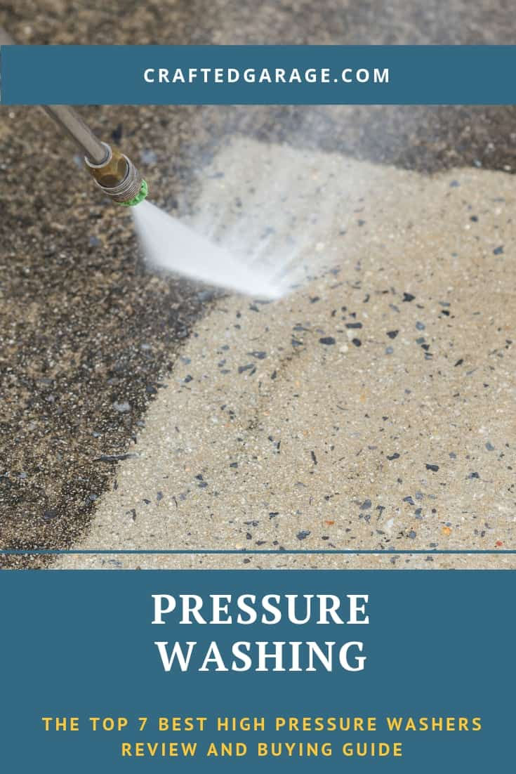 The top 7 best high pressure washers review and buying guide