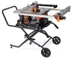 Wen 3720 15a Jobsite Table Saw With Rolling Stand 10 Review
