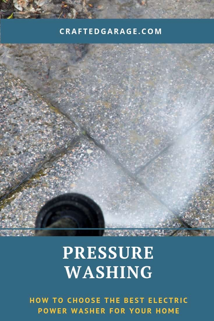 How to choose the best electric power washer for your home - Crafted