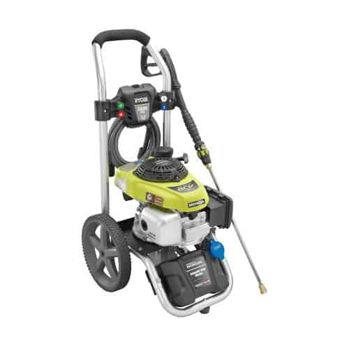 Ryobi 2800 PSI gas pressure washer right