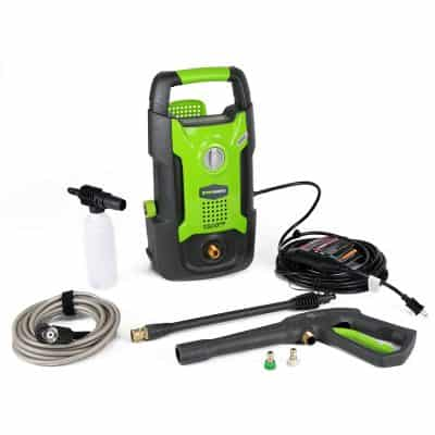 Greenworks 1,500 Psi 1.2 Gpm 13amp Hand Carry Electric Pressure Washer